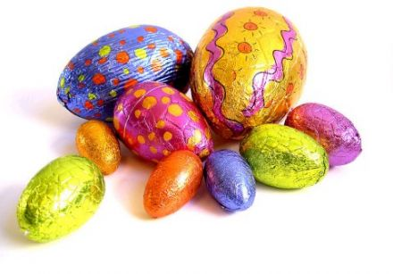 Were the original Easter eggs chocolate?  3