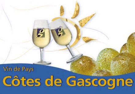 Wines from the South-West - Vins de Pays des Côtes de Gascogne