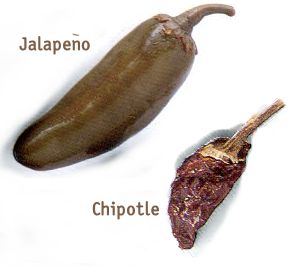 Jalapeño or Chipotle