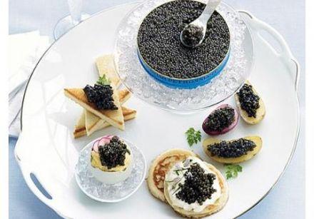 How to Serve Caviar, from Gourmetpedia
