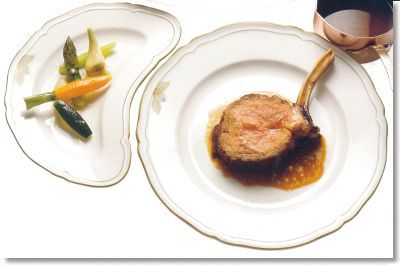 Glazed Loin Of Veal Jardiniere Of Vegetables A Recipe From