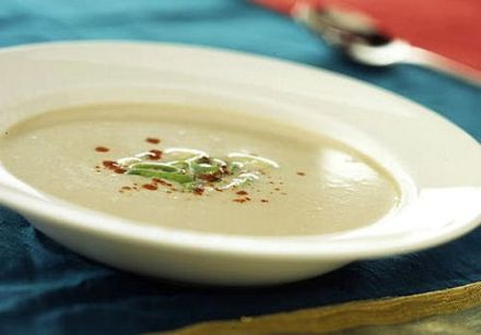Jamaican Ginger and Coconut Soup