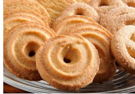Old-Fashioned Cardamom Shortbread Cookies