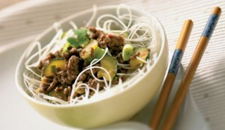 Chinese Vermicelli with Beef