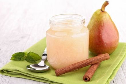 Pear and Almond Compote with Port