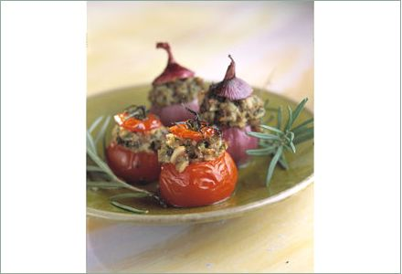 Little Vegetables Stuffed with Ratatouille, Nice-Style