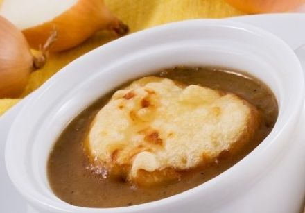 Onion Soup - original recipe from Lyon region
