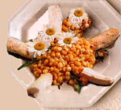 Freshwater Salmon and Corn Salad with Anise