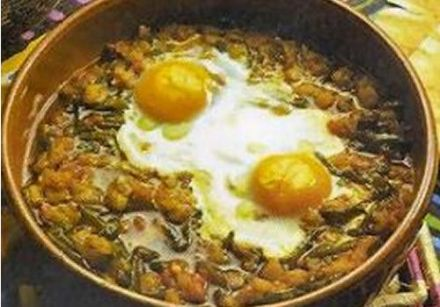 Chakchouka, Vegetable Stew with Eggs