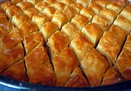 Baklava with Cardamom and Rosewater