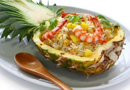 Rice with Pineapple - Khao phad sapparod