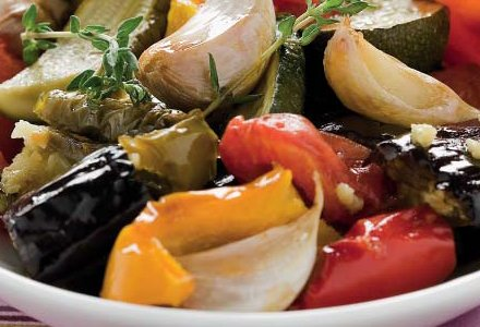 Slowly Cooked Vegetables with Garlic