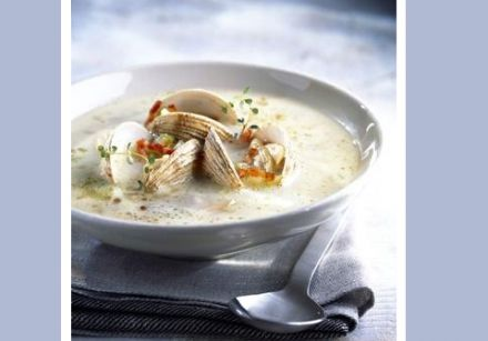 The Cliff House Clam Chowder