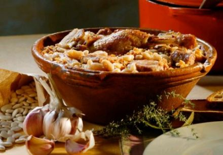 Cassoulet, Toulouse-Style (mutton, pork or goose version)