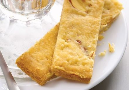 Toasted Almond Shortbread