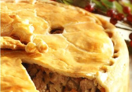 Maple Tourtière (Meat Pie)