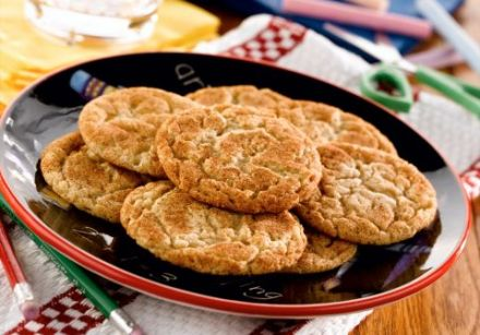 Back-to-School Snickerdoodles
