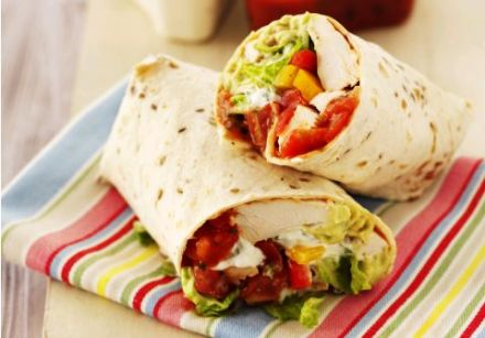 Tex Mex Chicken wrap