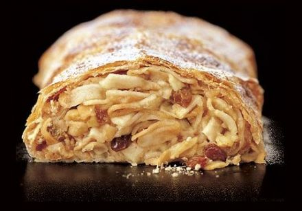 Apple Strudel - Austrian recipe