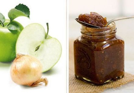 Apple and Onion Chutney