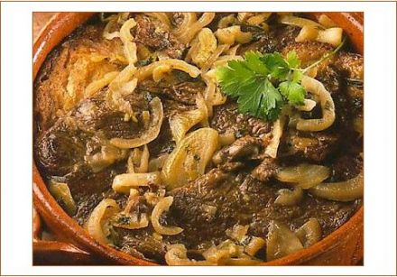 Carbonade flamande (beef stew in beer)
