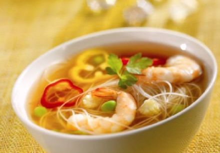 Thai Prawn Soup (146.5 cal.)