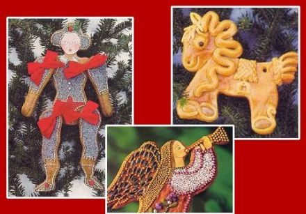 Austrian Cookies to decorate your Christmas tree (NON-edible)