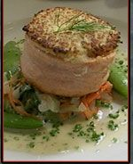 Horseradish-Crusted Salmon
