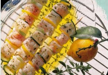 Fish Brochette