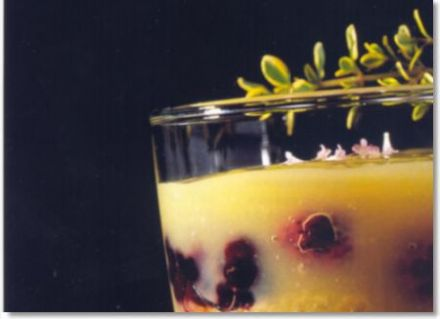 Berry and Lemon Fruit Cup