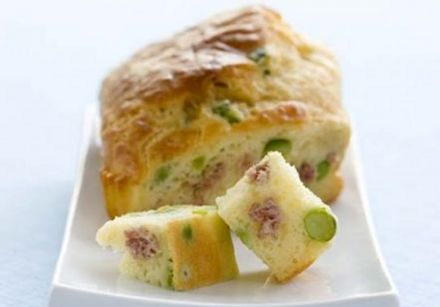 Pea and Ham Rillette Loaf