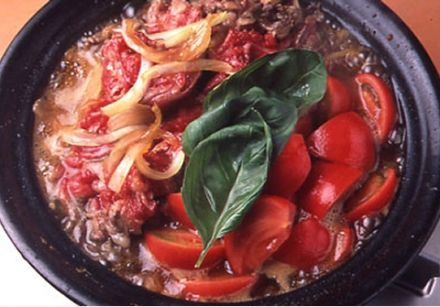 Sukiyaki with Tomatoes