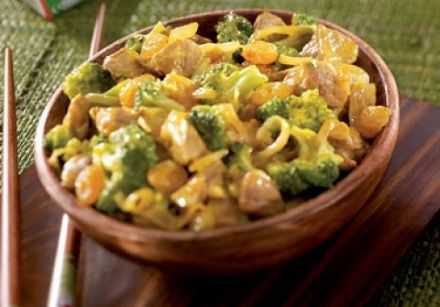 Pork and Coconut Curry with Vegetables