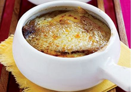 Gratinéed Onion Soup