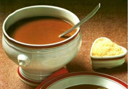 Tomato Soup with Onion