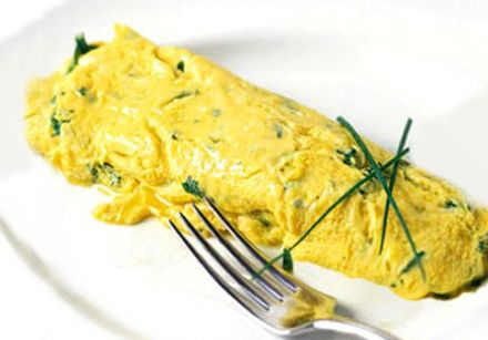 Country-Style Omelet with Taleggio Cheese