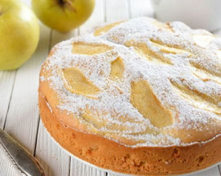 Apple and Orange Walnut Cake