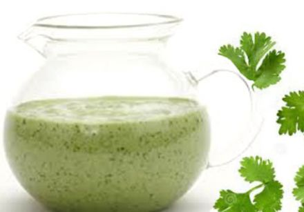Creamy Coriander and Lime Dressing