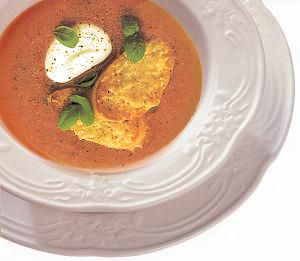 Cold Cucumber and Tomato Soup