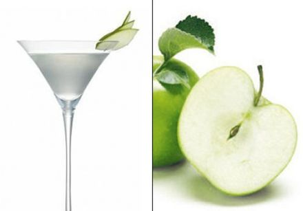 Green Apple & Coriander Martini