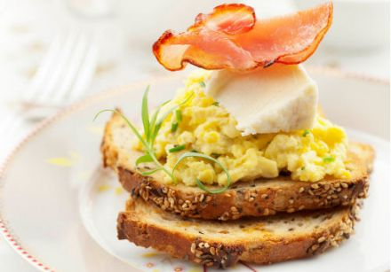 Scrambled Eggs with Boursault