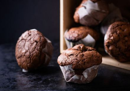 Sweet Potato Chocolate Chip Mini Muffins