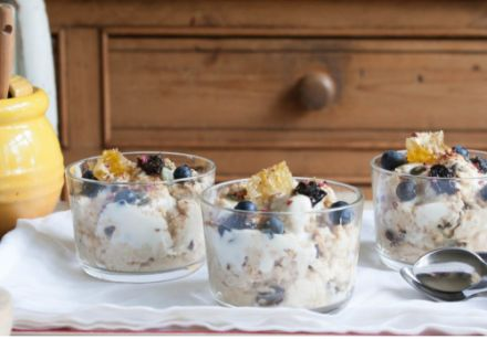 Overnight Oats with California Prunes