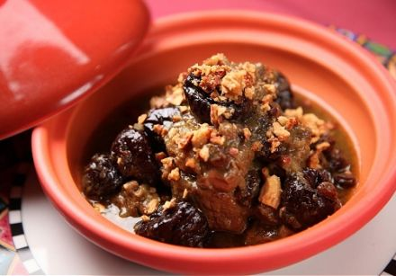 Mutton Tagine with Prunes