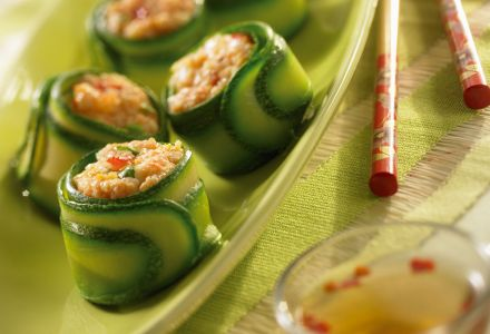 Shrimp and Zucchini Bites