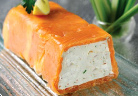 Artichoke Mousse and Smoked Salmon Terrine