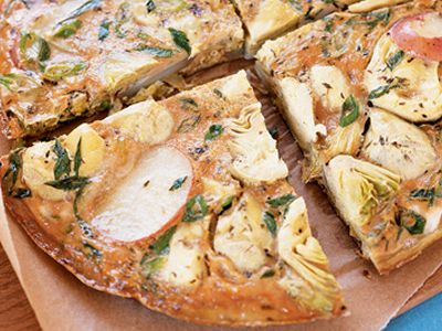 Potato, Pepper and Thyme Frittata