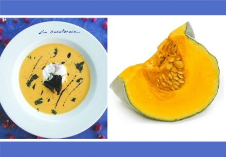 Cream of Pumpkin Soup with Orange and Cumin