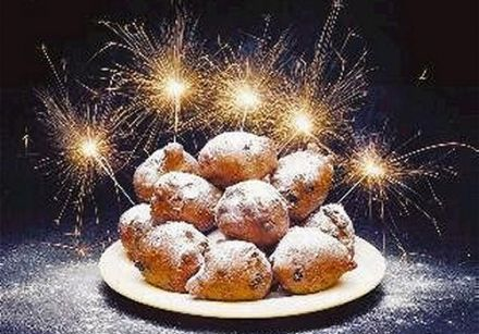 Oliebollen - New Year's Eve Doughnuts