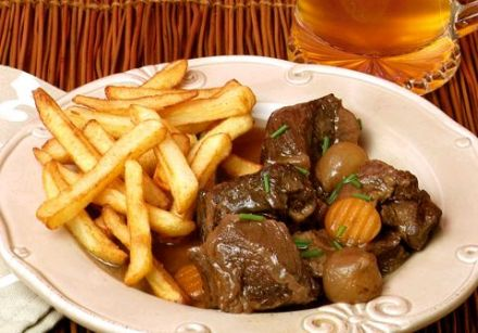 Carbonade flamande (beef stew in beer) 1